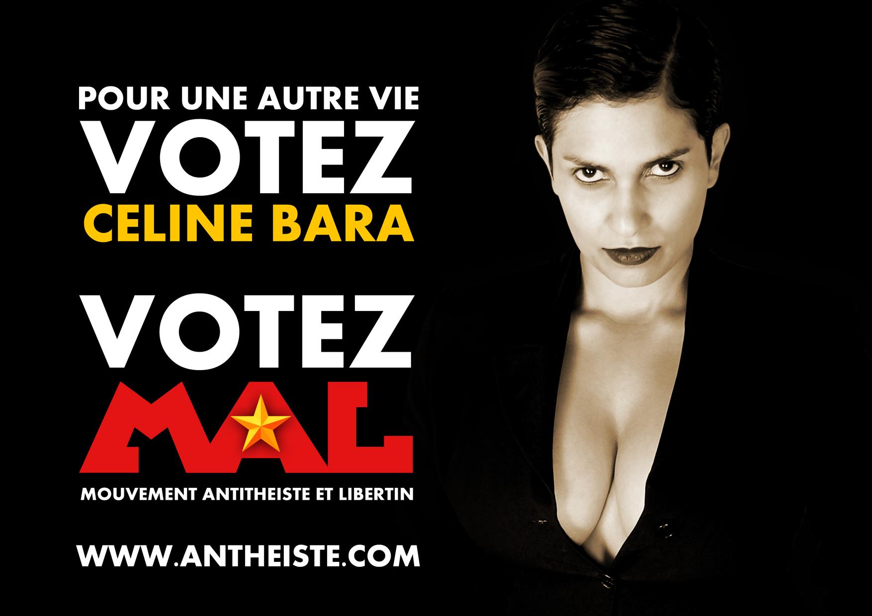 Céline Bara pour les législatives 2012