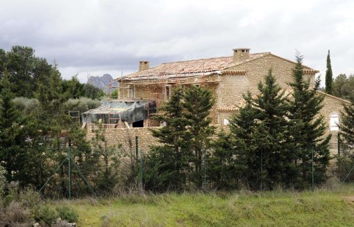 La villa de Michel Drucker
