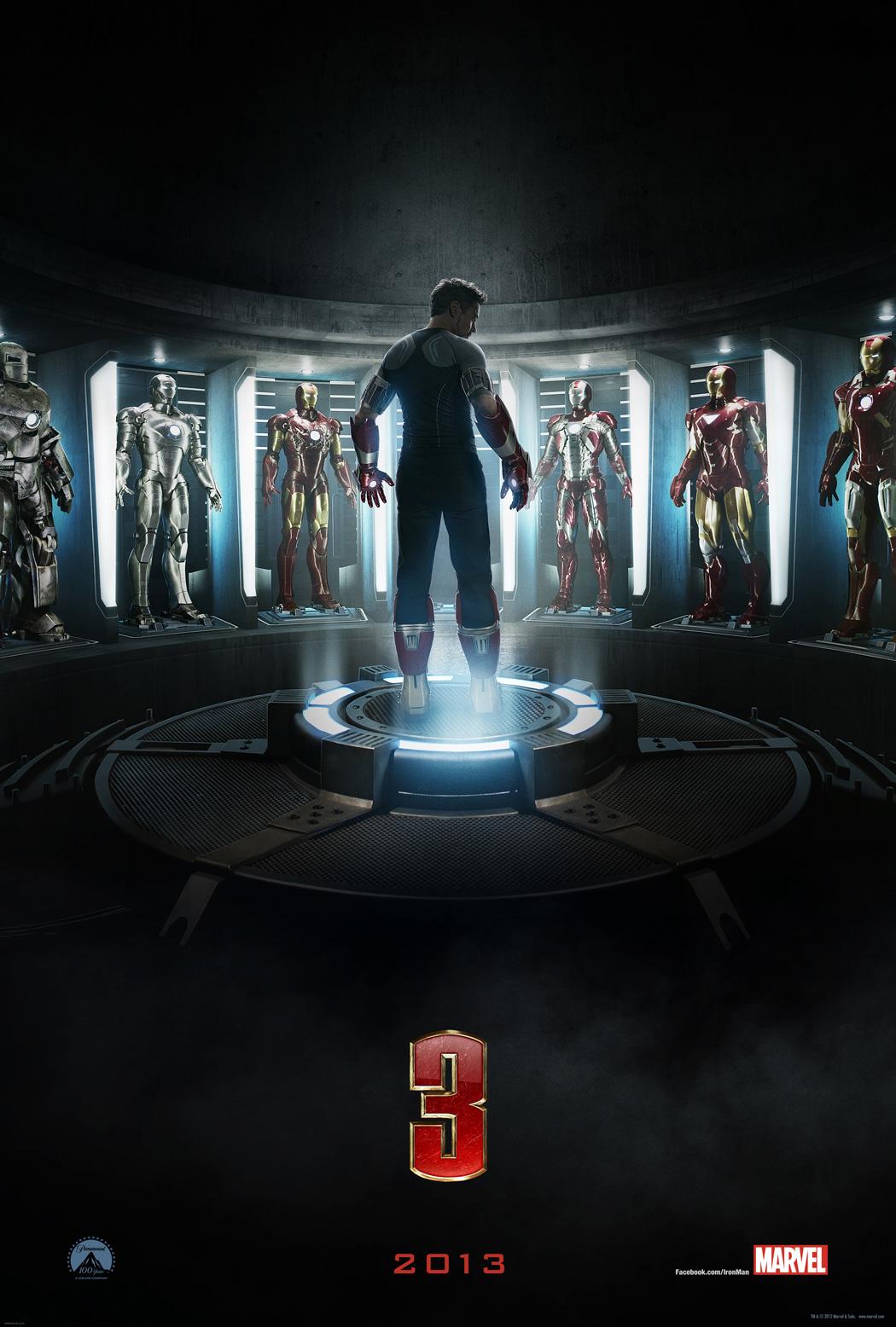 IRON MAN 3 le trailer HD