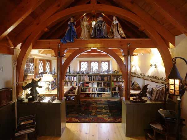 la demeure de bilbo le hobbit existe. Black Bedroom Furniture Sets. Home Design Ideas