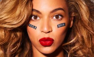 Beyonce en pleine répétition!