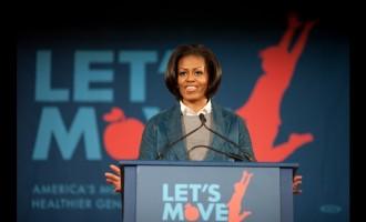 Michelle obama:Elle fait le Buzz sur «Single ladies»