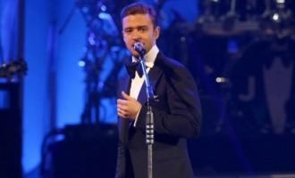 Le 1er concert de Justin Timberlake depuis 4 ans!