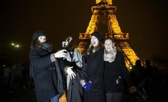 Les parisiennes peuvent enfin oublier les jupes!