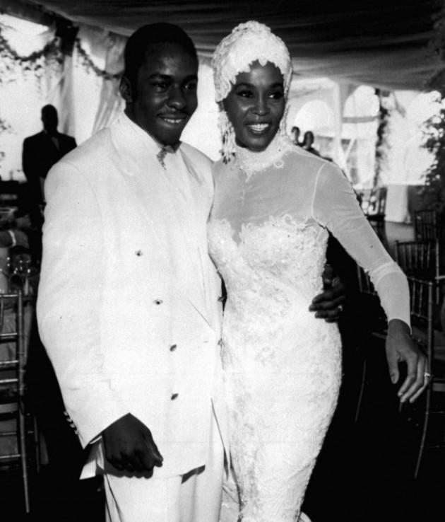 Whitney Houston  La vidéo inédite de son mariage avec Bobby Brown