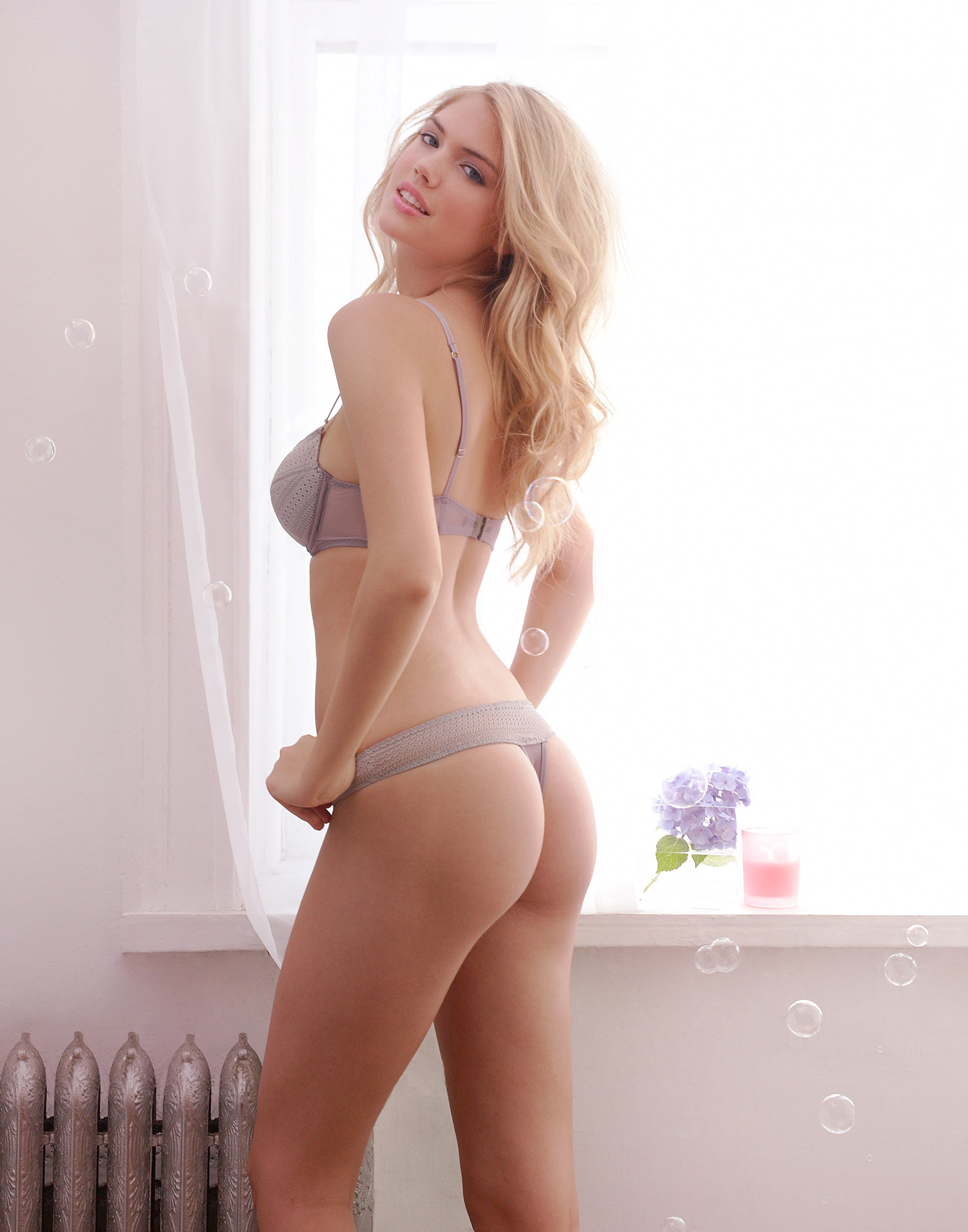 Kate Upton for Jenna Leigh Lingerie – photographed by Michael Da