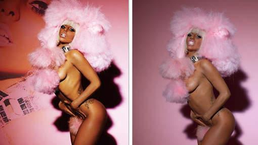 Lady Gaga photoshopée !