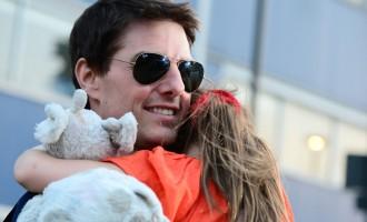 Tom Cruise:Il ne s'occupe plus de sa fille Suri