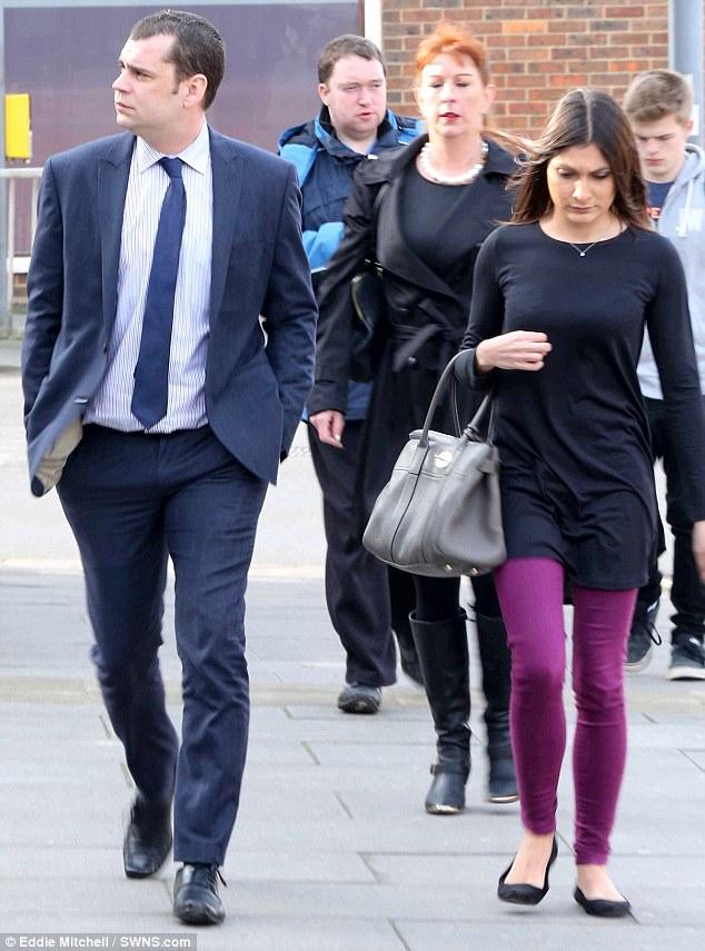 Andrew O'Clees et sa deuxième femme, Philippa