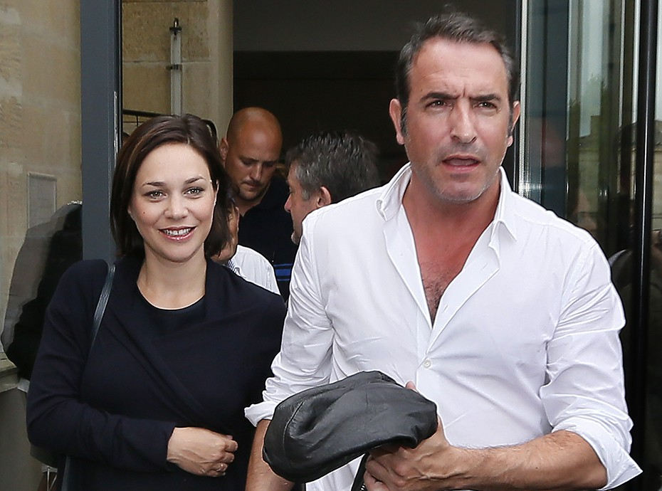 Nathalie p chalat enceinte de son premier enfant avec jean for Pechalat dujardin