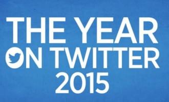 Les événements qui ont marqué Twitter en 2015