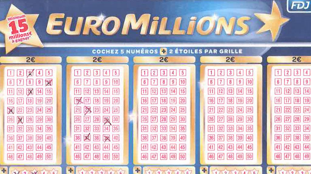 Un ticket de loto de 43 millions d 39 euros pass la machine laver - Tarif grille euromillion ...
