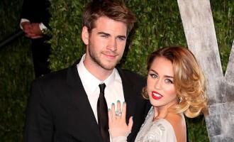 Miley Cyrus et Liam Hemsworth mariés en toute intimité?