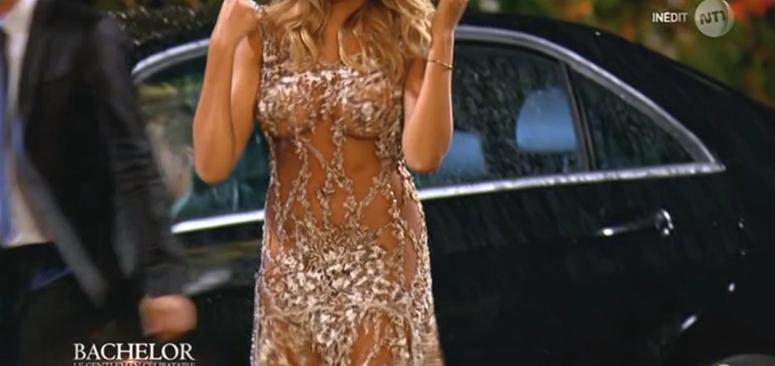 #Bachelor : Naëlle s'explique sur sa robe transparente