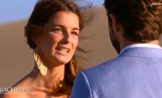 #Bachelor:Shirley refuse la rose de Marco après son comportement de goujat