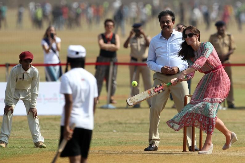 Kate Middleton fait polémique en Inde