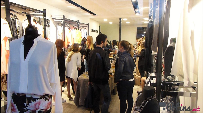 Les people réunis pour l'inauguration de la boutique Les Sœurs K
