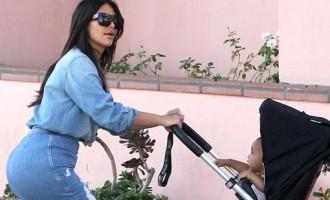 Kim Kardashian dévoile une nouvelle photo de son fils Saint sur Instagram