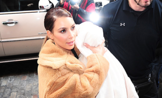 Kim Kardashian dévoile une tendre vidéo d'elle et son fils Saint