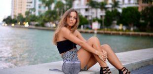 David Ginola:Sa fille Carla Ginola pose à moitié nue et enflamme le web