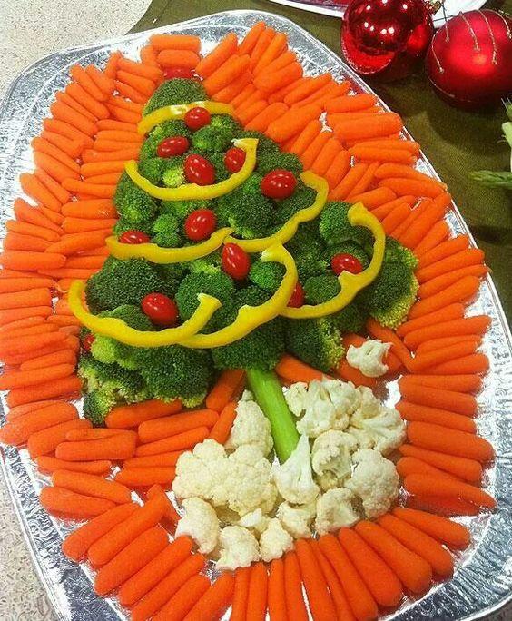 Sapin de Noël carotte