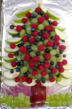 Sapin de Noël fruits
