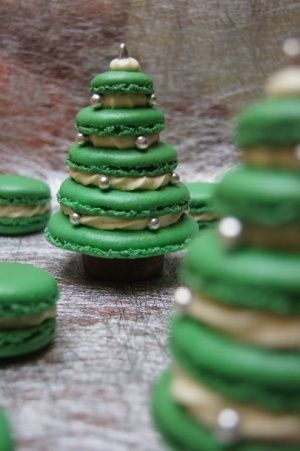 Sapin de Noël macaron