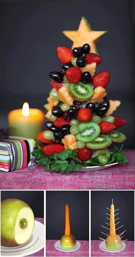 Sapin de Noël sucré