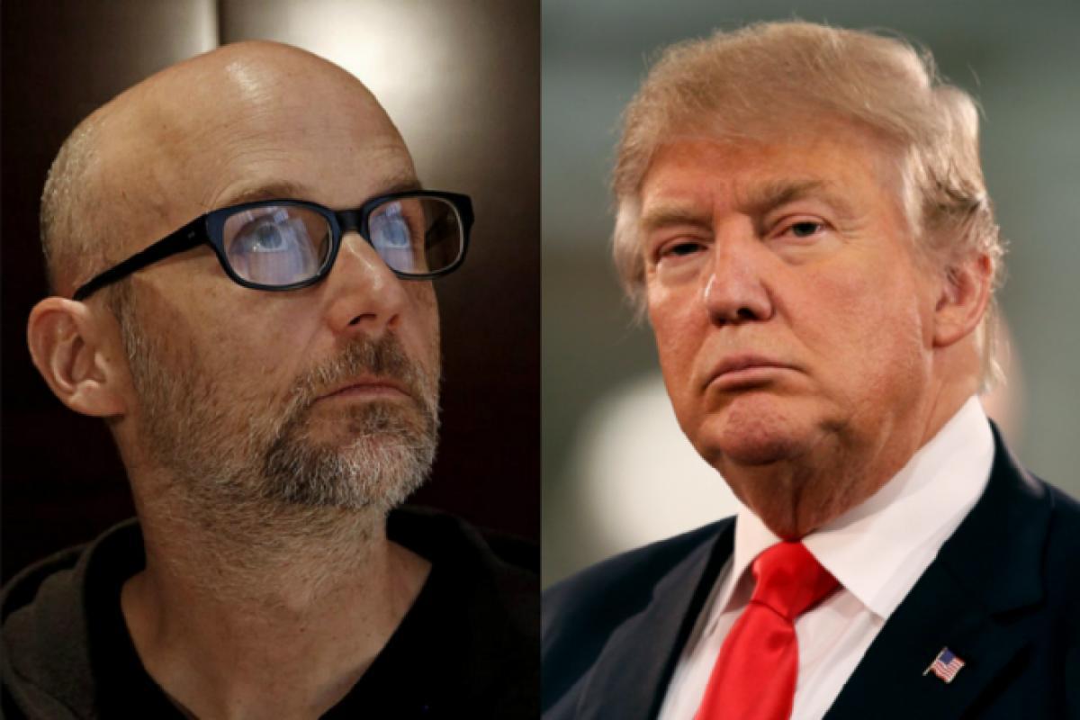 Moby fait trembler la Maison Blanche et le président Donald Trump !