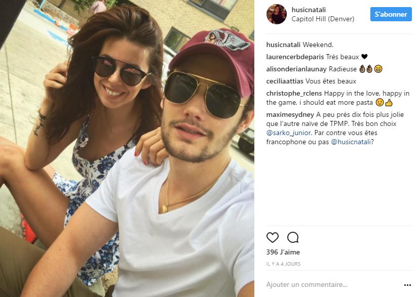 Sa nouvelle chérie, Natali Husic, plaît beaucoup à sa mère — Louis Sarkozy