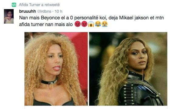 Beyonce vs Afida