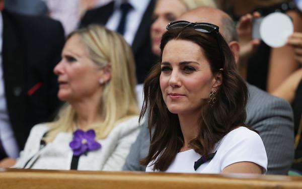 Wimbledon : Kate Middleton et le prince William amoureux comme au premier jour