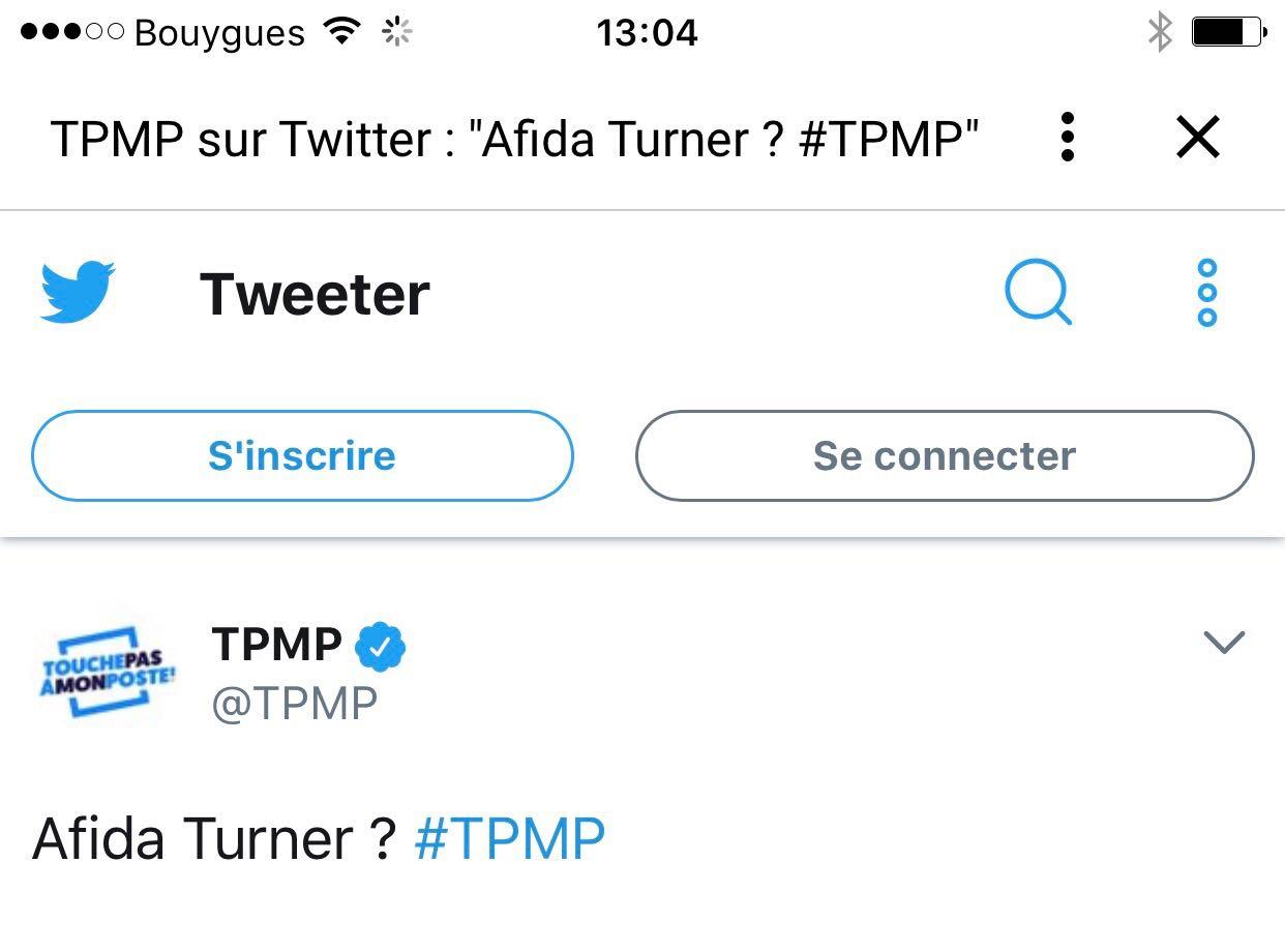 Tweet TPMP