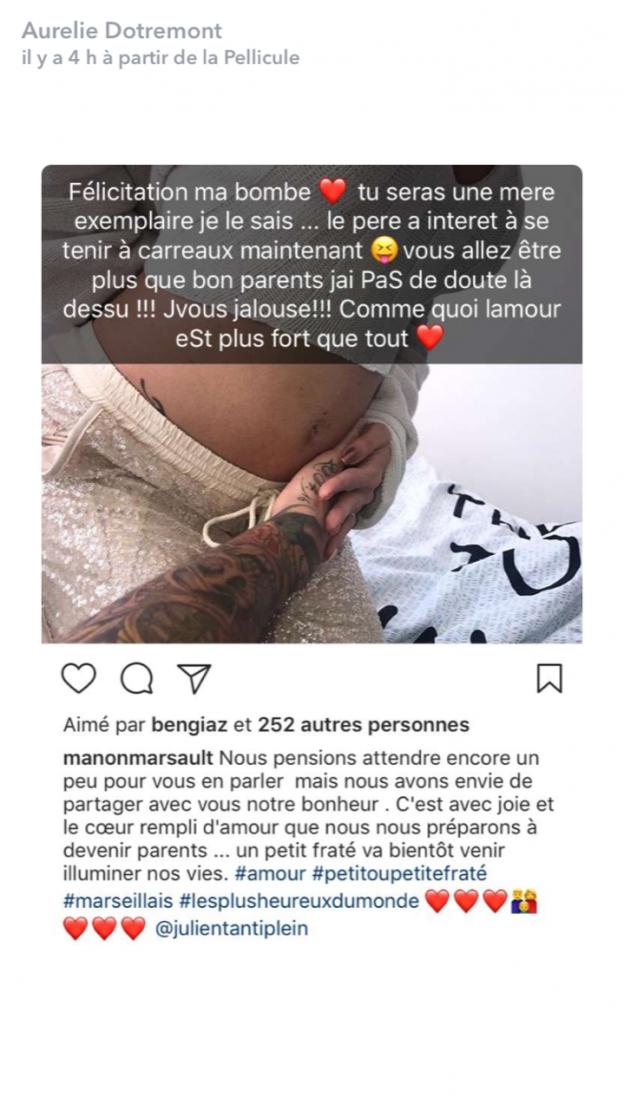 Manon Marsault enceinte : Elle se fait clasher par une candidate de télé-réalité