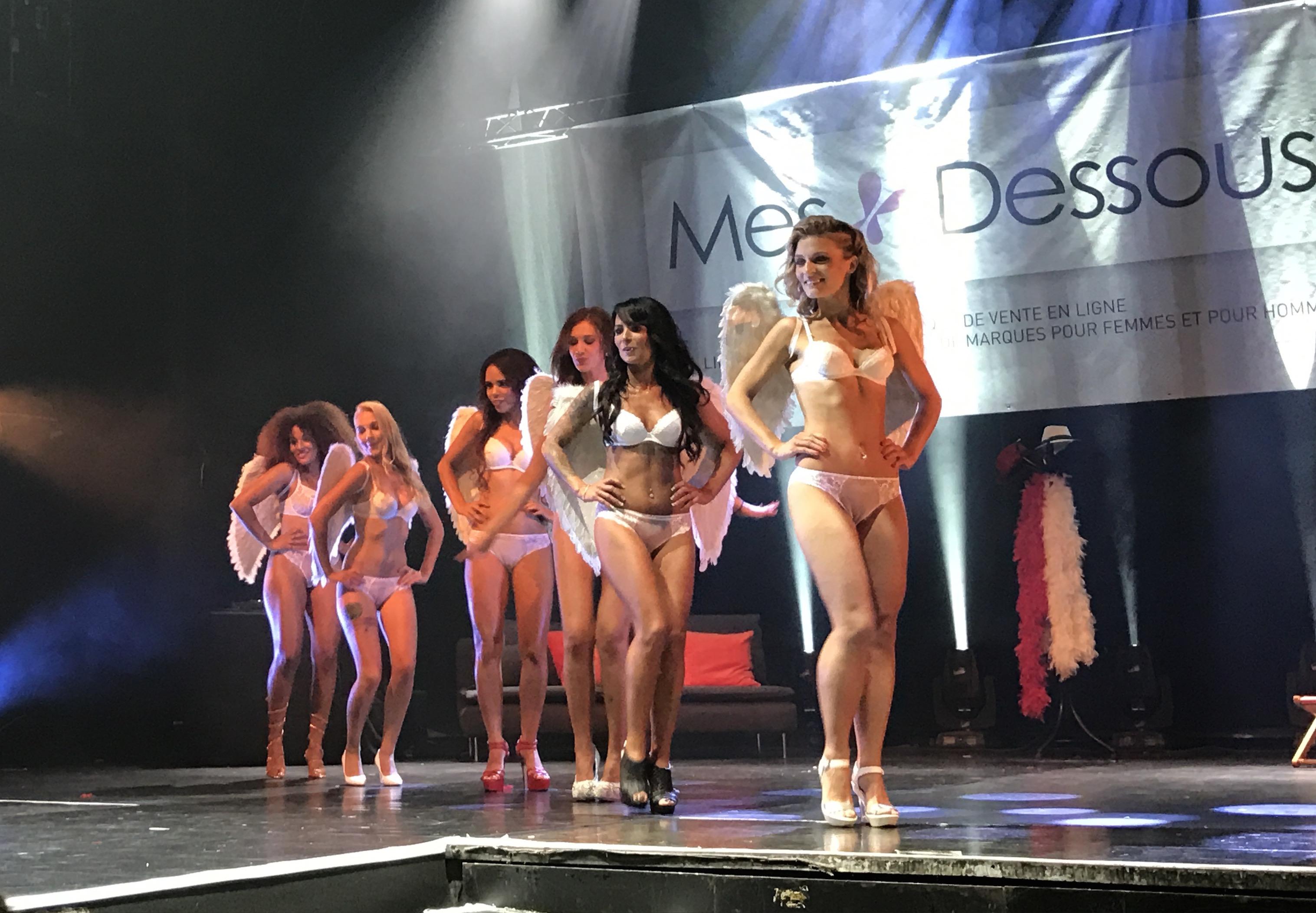 Découvrez les photos de l'élection de Miss Lingerie 2017