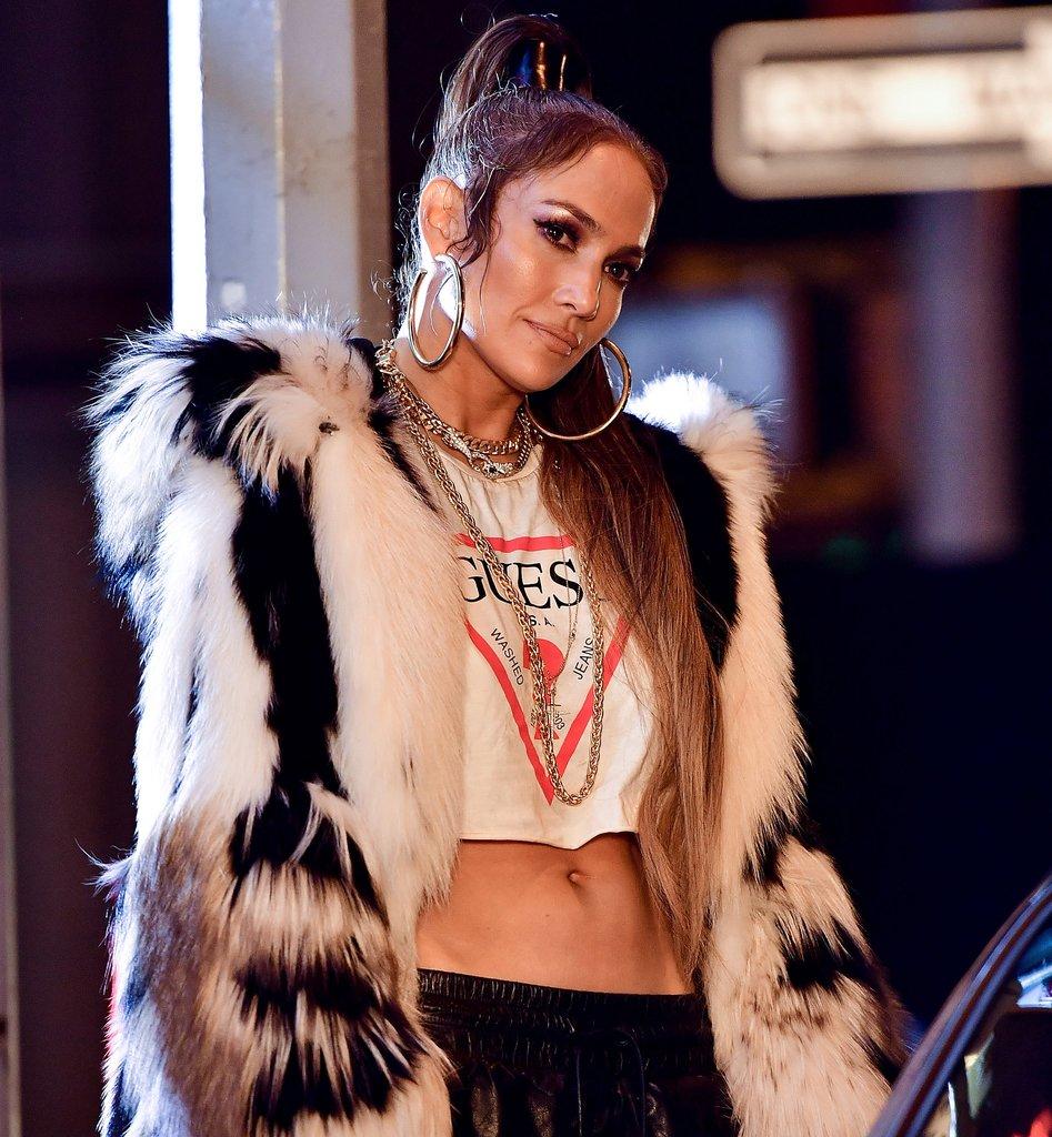 Jennifer Lopez égérie de la marque Guess
