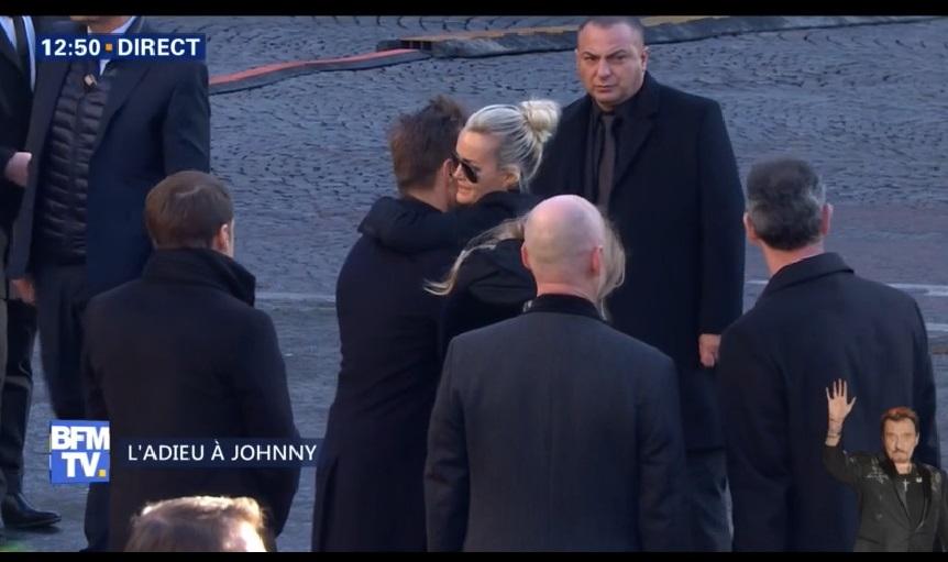 Hommage à Johnny Hallyday : Laura Smet, David Hallyday et Laeticia unis dans la douleur