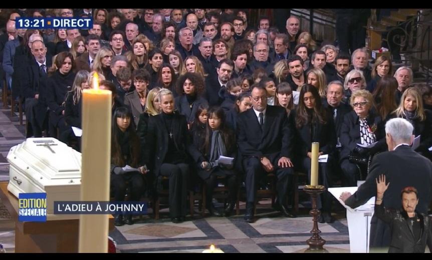 Hommage à Johnny Hallyday : Revivez la cérémonie en images