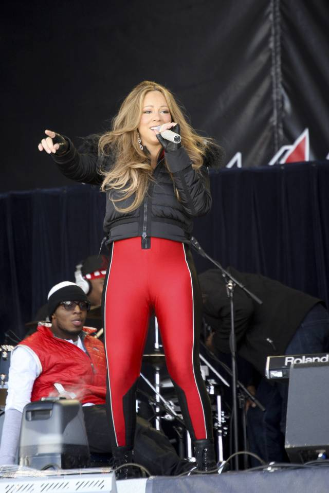 Top 10 des pires looks de Mariah Carey