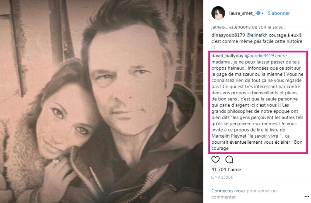 Héritage de Johnny: David Hallyday sort les griffes pour défendre Laura Smet