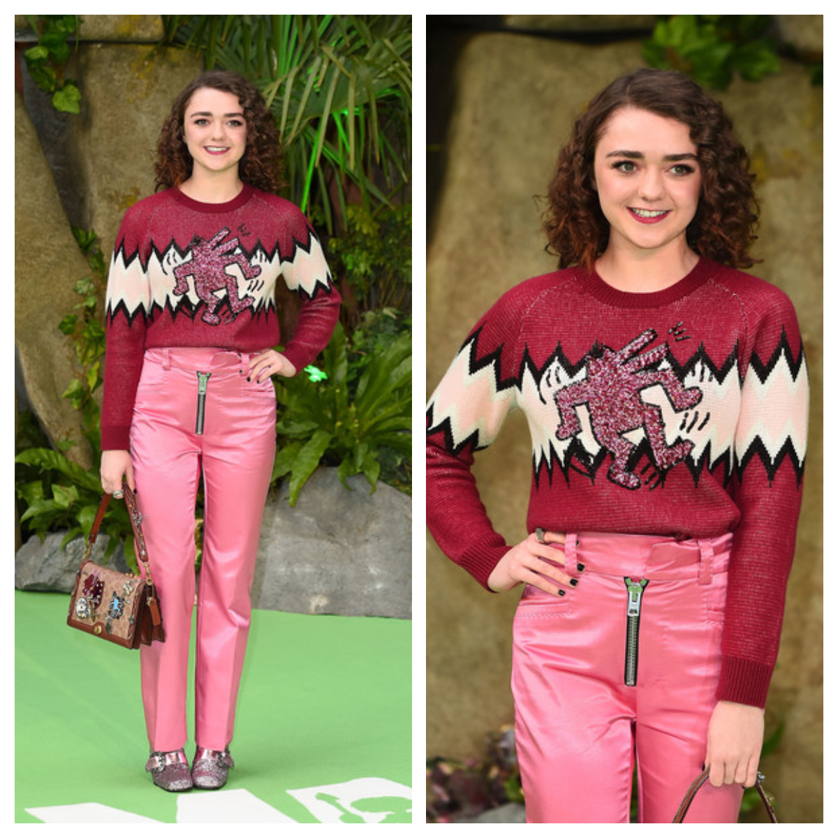 Top 12 des pires looks de Maisie Williams (Game Of Thrones)