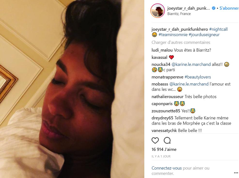 Karine Le Marchand au lit avec JoeyStarr : Le cliché qui fait fondre la toile