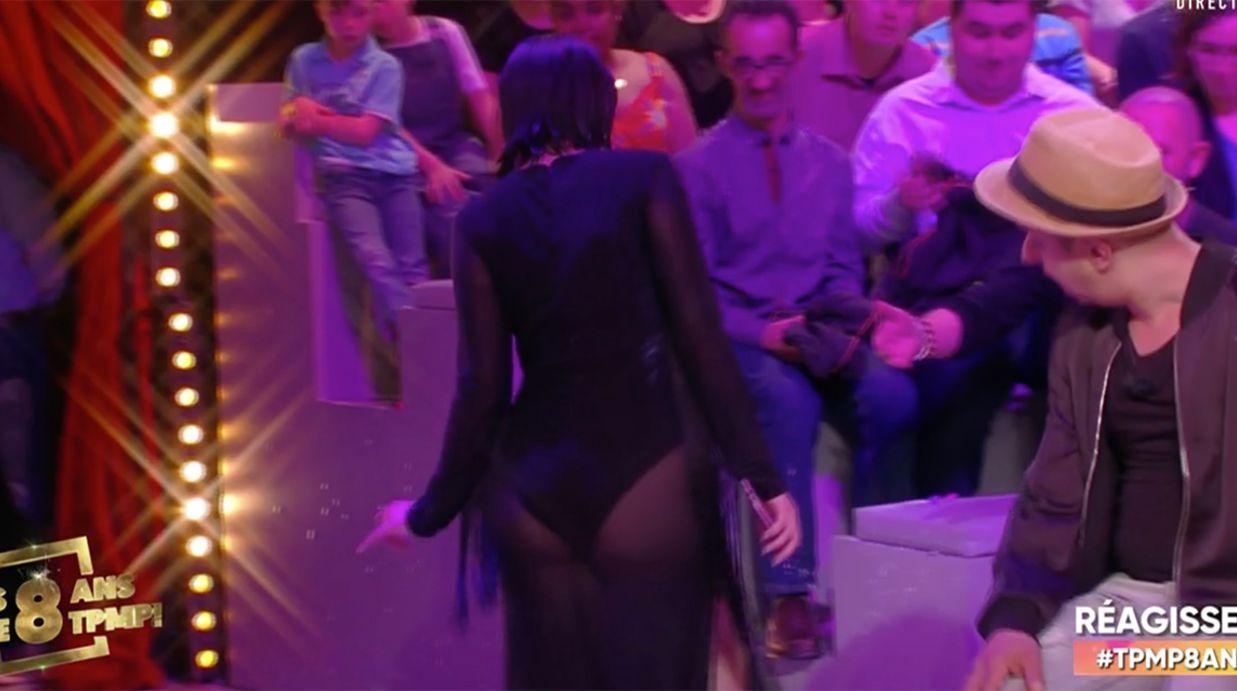 TPMP : Agathe Auproux dévoile ses fesses dans une robe transparente… et s'attire les foudres des internautes