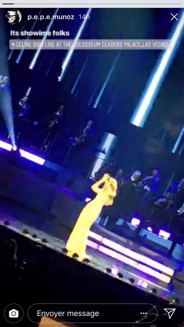 Céline Dion de retour sur scène : Pepe Munoz aux premières loges afin de l'encourager