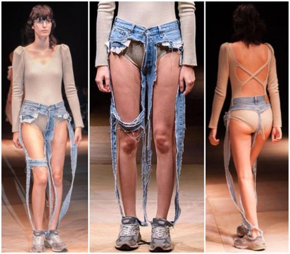 Le prix de ce jeans est tout simplement ridicule1