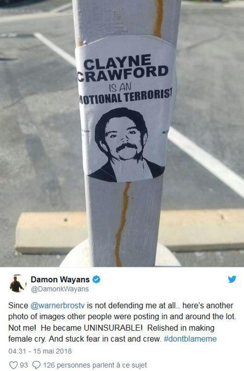 L'Arme Fatale : Damon Wayans dézingue Clayne Crawford