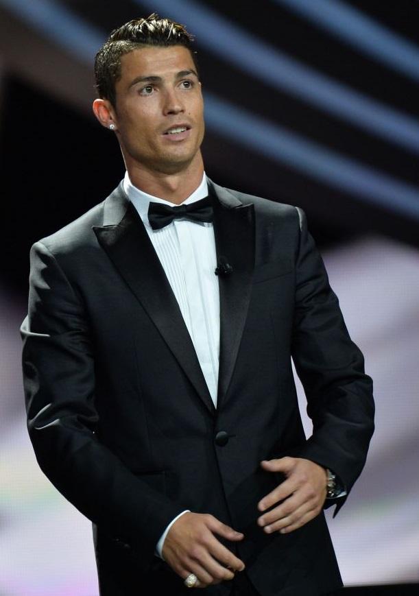Cristiano Ronaldo (Portugal) côté ville