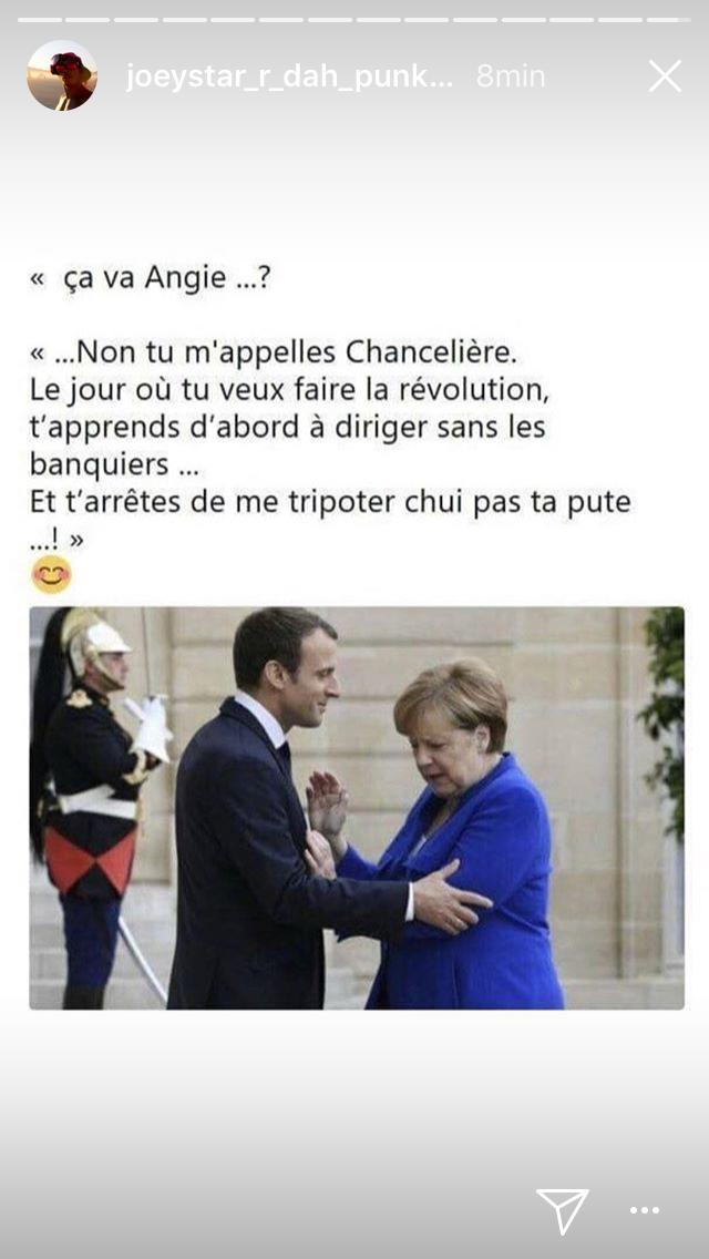Ca va Manu ? JoeyStarr se moque d'Emmanuel Macron… et c'est très drôle