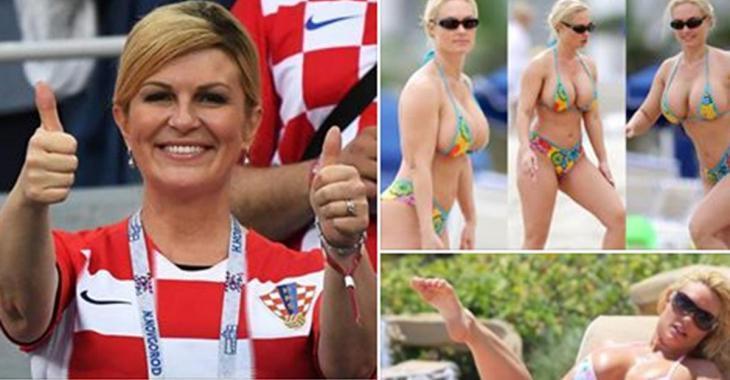 Non, la présidente croate ne se balade pas en mini bikini