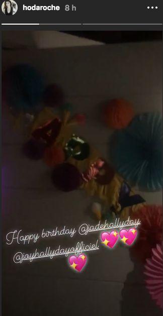 Jade Hallyday : un anniversaire en grande pompe entouré de people !